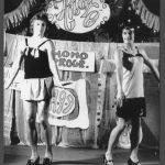 Auftritt der Theatergruppe Hibaré, Ostberlin, 1970er, Schwules Museum