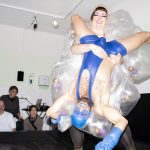 FtM vs HIV. Medical Lube Wrestling
