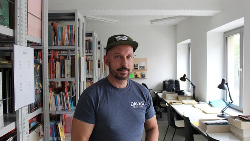 Archivleiter und Kurator Peter Rehberg