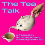 "Logo ""The Tea Talk"""